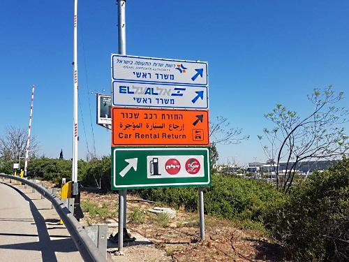 Jerusalem Car Rental Return